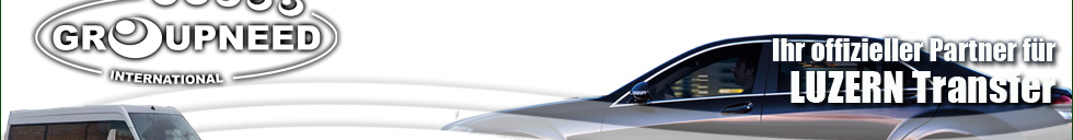 Transportation to Luzern with Limousine / Minibus / Helicopter